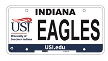 USI Licence Plate 2014