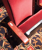 Picture of theatre seat
