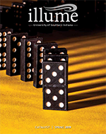 Spring 2019 Illume Cover - Dominoes in a row