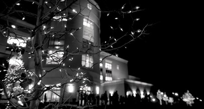 USI Lighting a Tradition lighting of The Quad
