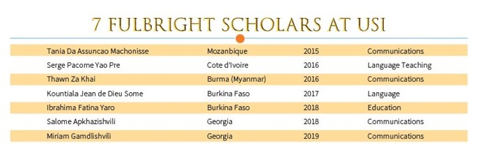 fulbright scholars at USI